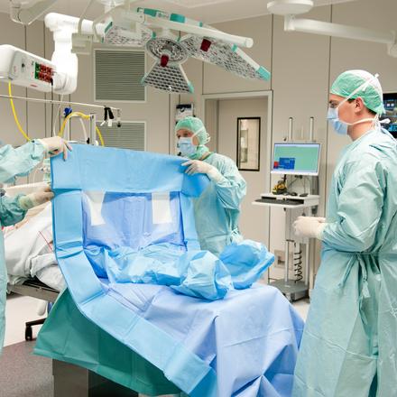 Draping system EsySuit Efficient Surgery