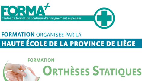 Formation 2021 Orthèses Statiques 15 et 29 mai 2021 HEPL Qual du Barbou 2 - 4020 Liège