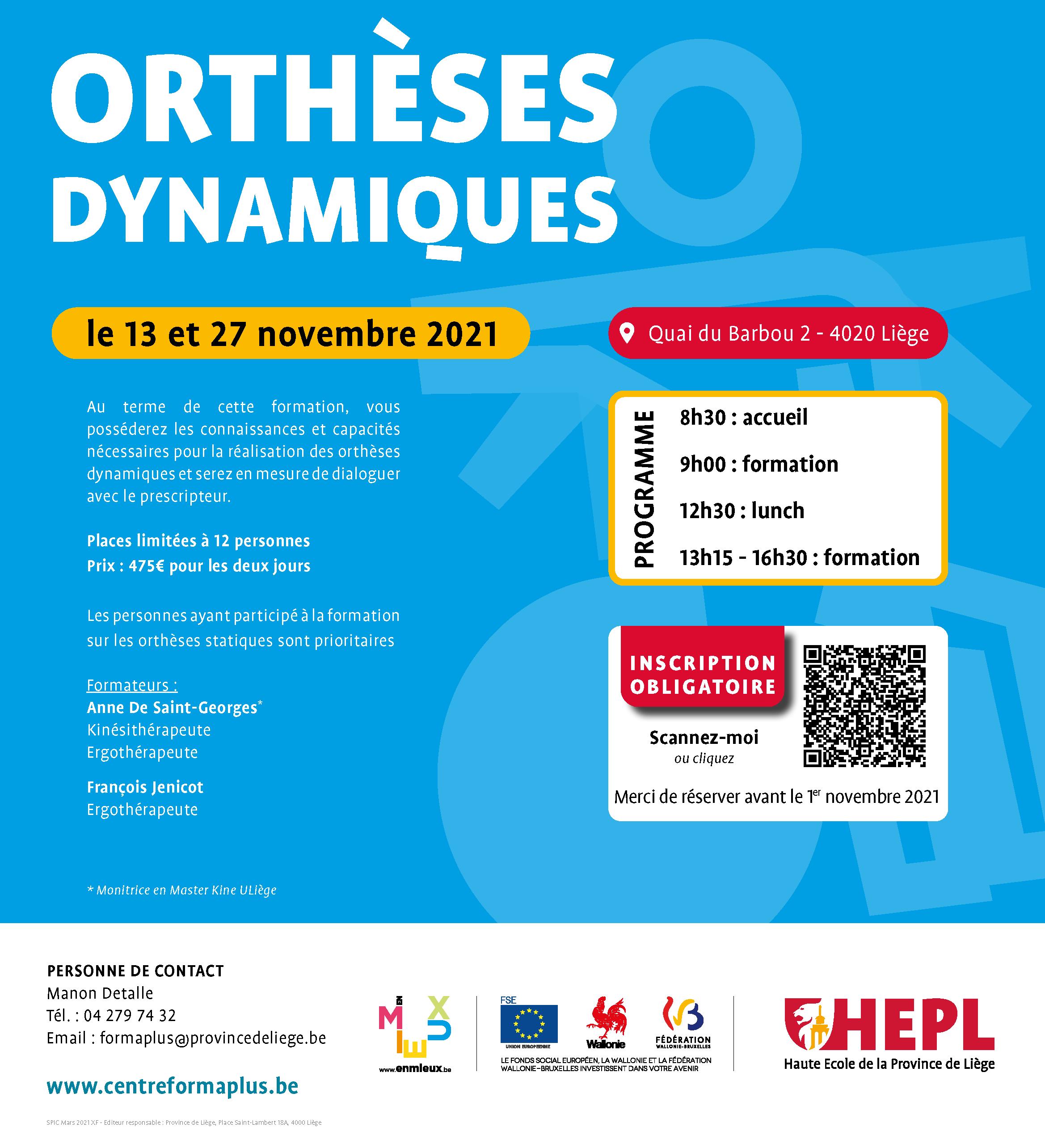 HEPL Formation Othèses Dynamiques 2021